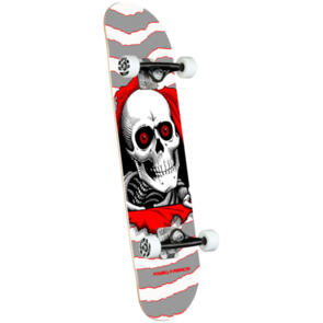 POWELL PERALTA RIPPER ONE OFF COMPLETE SILVER 8.0