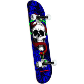 POWELL PERALTA SKULL & SNAKE ONE OFF COMPLETE ROYAL 7.75