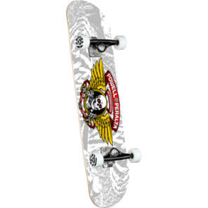POWELL PERALTA WINGED RIPPER COMPLETE SILVER 8.0