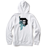 PRIMITIVE BEACON HOOD WHITE