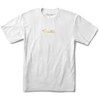PRIMITIVE MINI NUEVO GOLD FOIL TEE WHITE