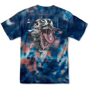 "Primitive x Marvel /""Venom Oversized/"" Short Sleeve Tee Black Graphic T-Shirt"