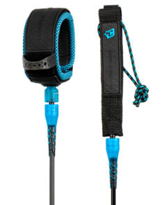 CREATURES OF LEISURE 2021 PRO 6 LEASH BLACK CYAN 6FT