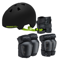 PROTEC YOUTH PADS AND MGP HELMET PACKAGE