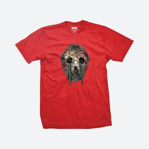 DGK HOOLIGAN TEE RED