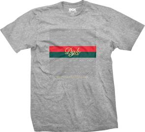 DGK LUX TEE ATHLETIC HEATHER