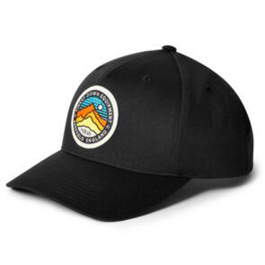 RAB BASE CAP BLACK 3 PEAKS
