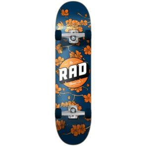 RAD BOARD CO DUDE CREW COMPLETE CHERRY BLOSSOM NVY ORNGE 7.5
