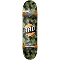 """RAD BOARD CO DUDE CREW COMPLETE CAMO CLASSIC 7.75 X 31"""""""