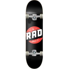 """RAD BOARD CO PROGRESSIVE COMPLETE LOGO - CLASSIC BLACK 8.125"""""""