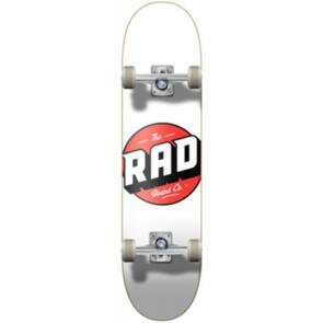 """RAD BOARD CO PROGRESSIVE COMPLETE LOGO - CLASSIC WHITE 8"""""""