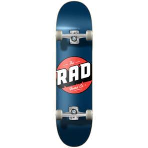 RAD BOARD CO PROGRESSIVE COMPLETE LOGO - CLASSIC NAVY 7.75
