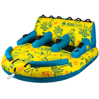 RADAR 2019 THE CHASE LOUNGE TROPICAL YELLOW BLUE 3 PERSON TUBE