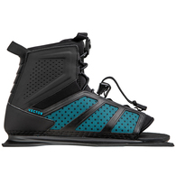 RADAR 2020 VECTOR BOOT - BLACK / BLUE - FRONT FEATHER FRAME