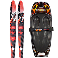 RANDOM KNEEBOARD AND COMBO SKIS