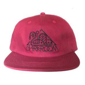 DARKROOM OG RED 6 PANEL CAP RED