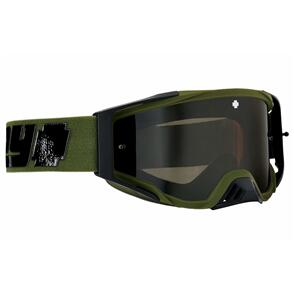 SPY OPTIC FOUNDATION PLUS - REVERB OLIVE HD SMOKE W/ BLACK SPECTRA MIRROR