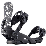RIDE 2019 WOMENS FAME BINDINGS BLACK MARBLE