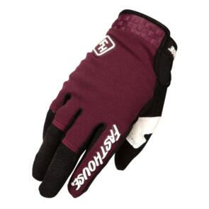 FASTHOUSE 2021 YOUTH SPEED STYLE RIDGELINE GLOVES MAROON/BLK