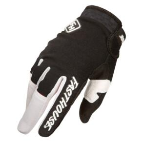 FASTHOUSE 2021 YOUTH SPEED STYLE RIDGELINE GLOVES BLACK/WHIT