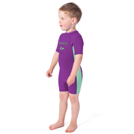 RIP CURL WETSUITS 2019 GROMS OMEGA S/SL 1.5MM SPRING PURPLE