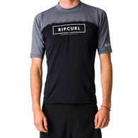RIP CURL WETSUITS 2019 UNDERLINE RELAXED SS UVT BLACK