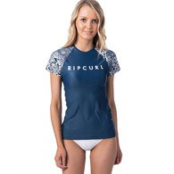 RIP CURL WETSUITS 2019 WOMENS COASTAL TIDES RELAXED SS DARK BLUE