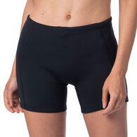 RIP CURL WETSUITS 2019 WOMENS D/PATROL 1MM NEO SHORTS BLACK