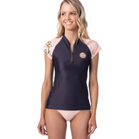 RIP CURL WETSUITS 2019 WOMENS ISLAND TIME CAP SL LIGHT PINK