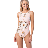 RIP CURL WETSUITS 2019 WOMENS ISLAND TIME ONE PIECE PEACH