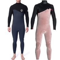 RIP CURL WETSUITS 2020 FLASHBOMB 3/2MM GLUED ZIP FREE STEAMER SLATE
