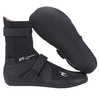 RIP CURL WETSUITS 2020 FLASHBOMB 3MM HID.S/TOE BOOTIES BLACK