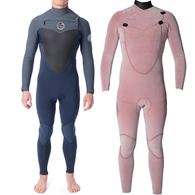 RIP CURL WETSUITS 2020 FLASHBOMB 43GB C/ZIP STEAMER GREY
