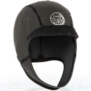 RIP CURL 2021 DAWN PATROL 2MM SURF CAP BLACK