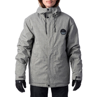 RIP CURL SNOW 2020 THE TOP NOTCH JACKET STEEL GREY