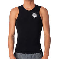RIP CURL WETSUITS 2020 FLASHBOMB 0.5MM S/LESS VEST BLACK