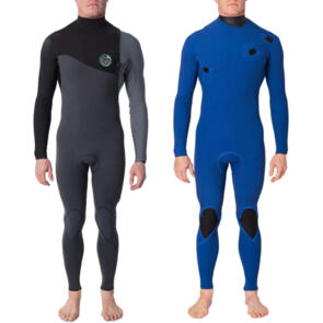 RIP CURL WETSUITS 2020 E BOMB 3/2MM GB ZIP FREE STEAMER GREY