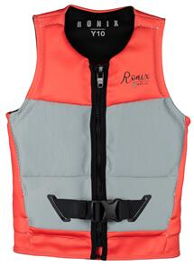 RONIX 2021 PROM QUEEN TEEN L50S VEST (SILVER/CORAL)