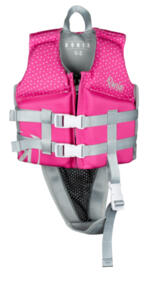 RONIX 2021 AUGUST L50S VEST (BRIGHT PINK/SILVER) - 0-2