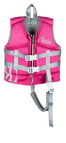 RONIX 2021 AUGUST L50S VEST (BRIGHT PINK/SILVER) - 4-6