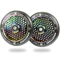 ROOT 120MM HONEYCORE WHEELS - BLACK / ROCKET FUEL 2 PACK