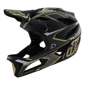 TROY LEE DESIGNS 2020 STAGE AS HELMET ROPO GREEN / GOLD