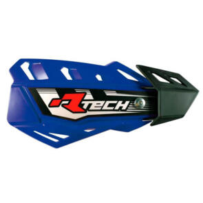 RTECH HANDGUARDS FLX + MOUNTING KIT BLUE