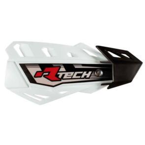RTECH HANDGUARDS FLX + MOUNTING KIT WHITE