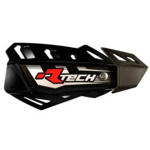 RTECH HANDGUARDS FLX + MOUNTING KIT BLACK