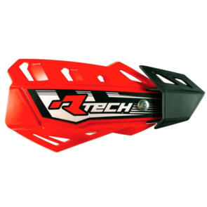 RTECH HANDGUARDS FLX + MOUNTING KIT RED
