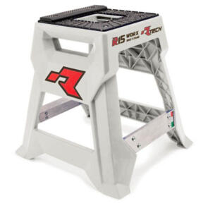 RTECH R15 WORKS CROSS BIKE STAND LAUNCH EDITION WHITE