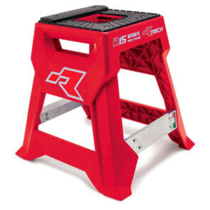 RTECH R15 WORKS CROSS BIKE STAND LAUNCH EDITION RED