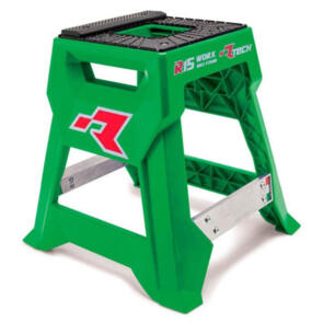 RTECH R15 WORKS CROSS BIKE STAND LAUNCH EDITION GREEN