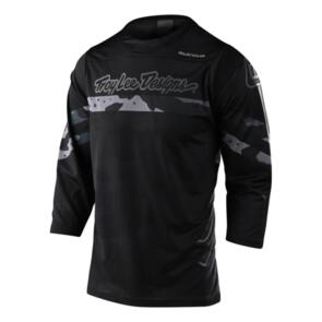 TROY LEE DESIGNS 2020 RUCKUS 3/4 JERSEY FACTORY CAMO GRAY / BLACK